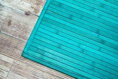 绿松石地毯 免版税图库摄影