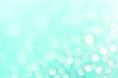 绿松石抽象defocused背景 库存照片