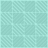 绿松石正方形 免版税图库摄影