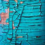 绿松石油漆朽烂 库存图片