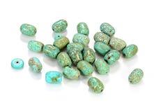 绿松石珠宝 库存图片