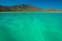 绿松石科尔特斯水海  库存图片