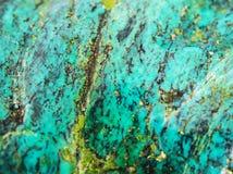 绿松石纹理珠宝 图库摄影