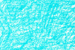 绿松石蜡笔画背景纹理 免版税图库摄影