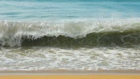绿松石起伏式波,慢动作 股票录像