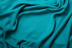 绿松石织品布  图库摄影