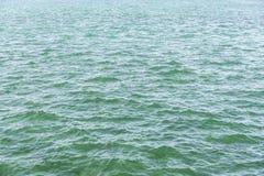 绿松石水纹理 库存图片
