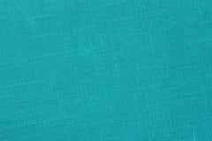 绿松石backround -亚麻帆布-储蓄照片 免版税图库摄影