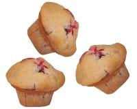 松饼三重奏 库存图片