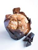 松饼-苹果计算机杯形蛋糕 免版税库存照片