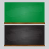 黑板传染媒介例证 免版税库存照片