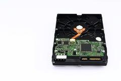 主板和硬盘数据存储 免版税库存照片