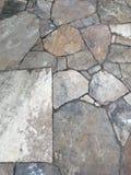 板岩岩石走道背景 库存照片
