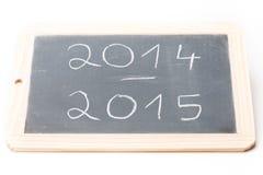 板岩板2014-2015 免版税图库摄影
