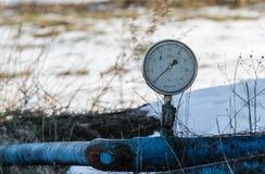 板岩气体或油设备 免版税库存照片