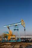板岩气体或油设备 库存图片