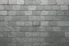 板岩瓦片背景 免版税库存照片
