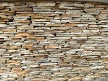 板岩砖墙 免版税图库摄影
