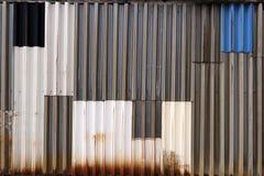 板料门面在一个工业区 库存照片