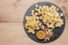 板材用乳酪 免版税图库摄影