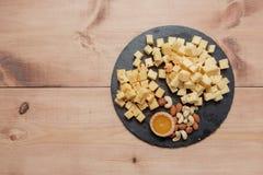 板材用乳酪 免版税库存图片