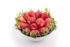 板材用草莓 免版税库存图片