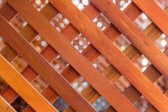 板条对角线在障碍的 免版税图库摄影