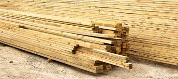 板条木材 免版税库存照片