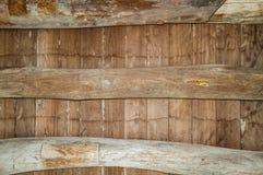 板条森林屋顶,使用作为背景和纹理 库存照片