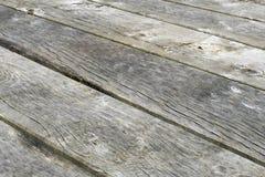 板条风化了木 免版税库存图片