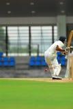 板球运动员蟋蟀 免版税库存照片