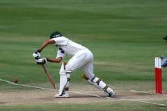 板球运动员蟋蟀 免版税图库摄影