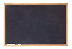 黑板空白支票例证更多我的请投资组合文教用品 免版税库存照片