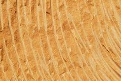板刻沙子石头纹理 库存图片