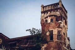 极为相象的城堡 库存图片