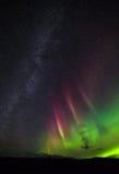 极光北极光 库存图片