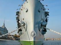 极光巡洋舰 库存图片