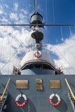 极光巡洋舰博物馆彼得斯堡圣徒 库存照片