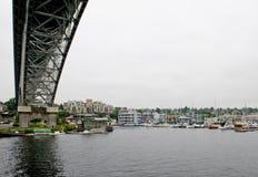 极光桥梁西雅图 免版税库存照片