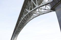 极光桥梁-西雅图,华盛顿 免版税库存照片