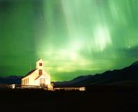 极光borealis 库存照片