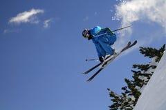 极其滑雪者 免版税库存照片