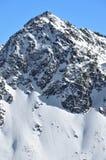 极其滑雪 免版税库存照片