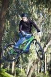 极其的骑自行车的人 库存图片
