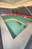 极可意浴缸在一家五星旅馆的温泉中心保加利亚语的Kranevo 免版税库存照片