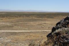 极大水池的沙漠 库存图片