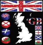 极大的不列颠人 库存图片
