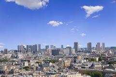 极大的全景巴黎地平线 库存图片
