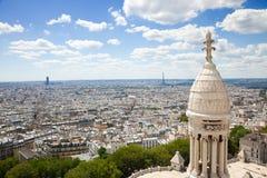 极大的全景巴黎地平线 免版税库存照片