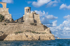 极大的围困纪念品在瓦莱塔,马耳他 免版税库存图片